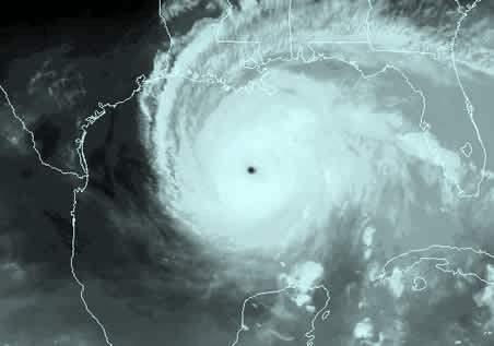 Hurricane Rita satellite image