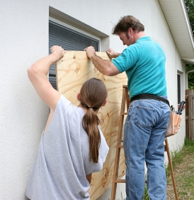 Installing Plywood For Hurricanes