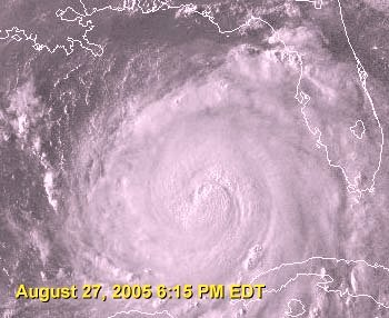 Satellite Image of Hurricane Katrina