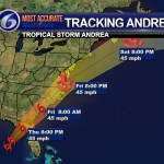 tracking andrea