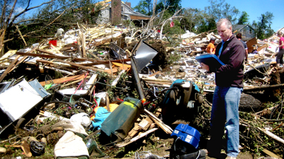 hurricane insurance claim adjuster