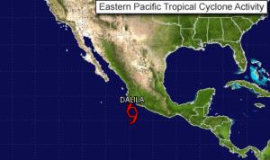 tropical storm dalia