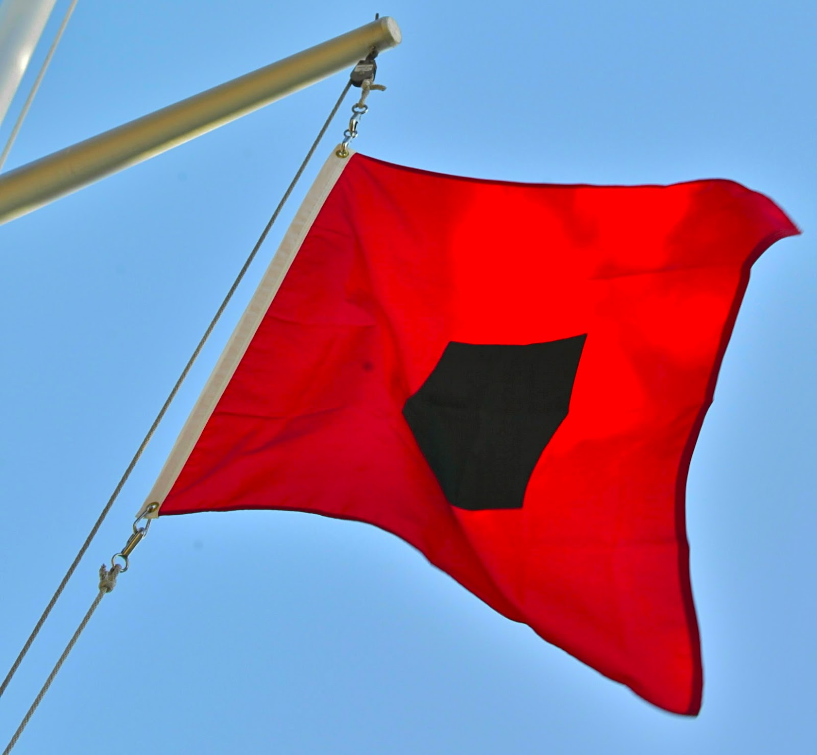 hurricane warning flag