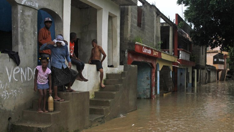 tropical storm chantal haiti and the dominican republic, one killed