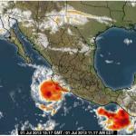 tropical storm dalila
