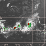gil becomes tropical storm again
