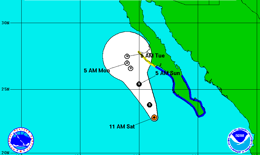 tropical storm ivo, tropical storm warnings